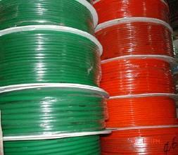 厂家直销上海帝隆PVCPU绿色菊红寺圆形传动带