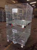 广州福州泉州仓储笼折叠仓库笼蝴蝶笼工业框大铁笼厂家