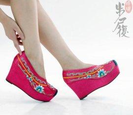 特色绣花鞋 (AS12020F粉红色)