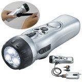LED手摇发电手电筒(HW)收音机手电筒
