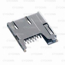 Micro SD记忆卡连接器