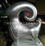 新春大吉泡沫雕像 羊年其他材質工藝雕塑 元旦裝飾春節擺件