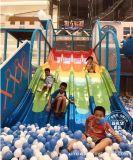 户外彩虹滑梯滑道 室内淘气堡蹦床设备 百万海洋球乐园 游乐设备