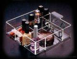 供應多格亞克力化妝品陳列盒,有機玻璃套裝擺放盒, 收納盒