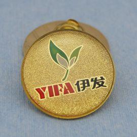 广州镀金胸章/企业logo金属牌/批发制作价格