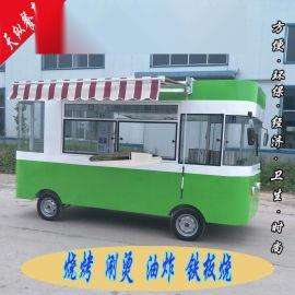 山东天纵保温送餐车多功能小吃车