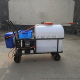 厂家直销105L手推式打药机蓄电池喷雾机室外消毒机
