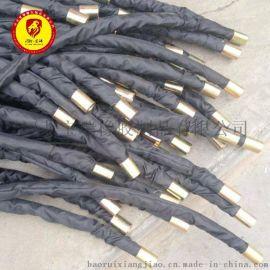 高压钢丝缠绕胶管 102扣压式高压软管