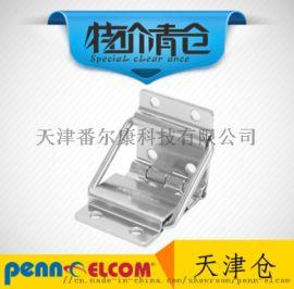 小型平面装重型金属合页铰链背撑航空箱工具箱