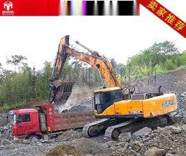UEDA移动式破碎机河卵石、建筑垃圾、水泥块、桩头
