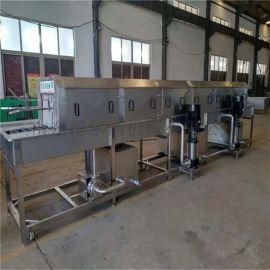 山东DR5洗筐机 全自动洗筐机 三段水洗筐机