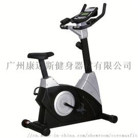 厂家直销商用直立式磁控健身车 健身房运动脚踏骑行车