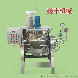 我爱发明花生豆腐机   花生豆腐机厂家   中型全自动花生豆腐机价格