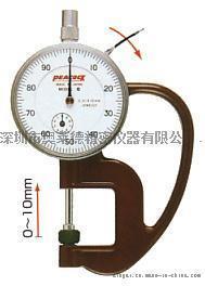 日本peacock  指针式厚度仪 厚度计G 测厚仪 高度计