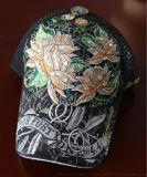 青岛冠达制帽定制各式绣花网眼帽卡车帽海绵网帽型号GD-615