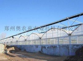 河南PC阳光板温室大棚造价 圆顶6.4*5米 蔬菜养殖大棚骨架 厂家直销