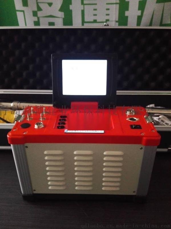 莱阳炼钢厂烟气检测就用青岛路博LB-62综合烟气分析仪