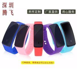户外运动果冻电子LED手环表防水腕表学生儿童手表企业礼品定制