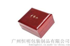 厂家直销手表盒亮光油漆中纤板盒子