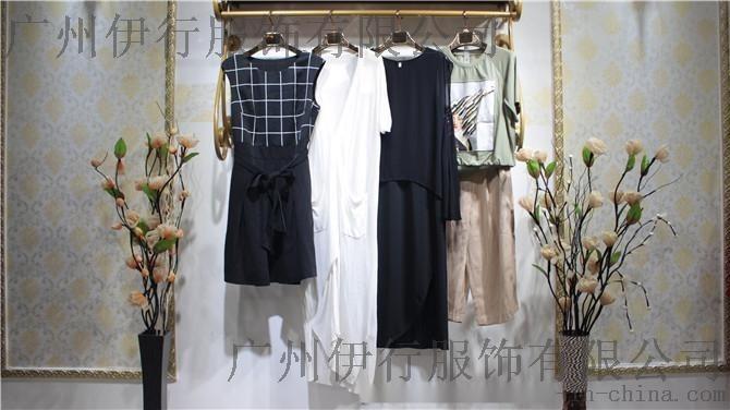 廣州潮牌【iam27】17休閒夏裝品牌女裝折扣尾貨庫存走份批發