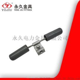 FD-2m型预绞丝防震锤 防护导线保护钢芯铝绞线