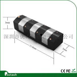 【postech】3MM迷你小磁头3轨道读卡刷卡器磁头兼容MSR010/009读卡器