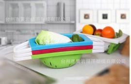 塑料 環保洗菜籃 淘米篩多功能塑料盆