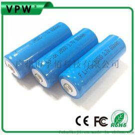 18500锂电池3.7V 1000mAh 1200mAh 1400毫安 充电锂电池厂家直销
