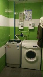 自助滾筒洗衣機大容量全自動洗衣機  w