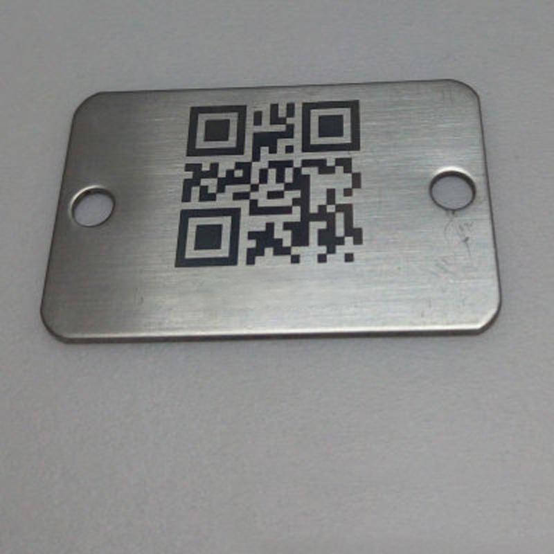 金屬條碼 金屬標籤 耐高溫標籤 不鏽鋼標牌
