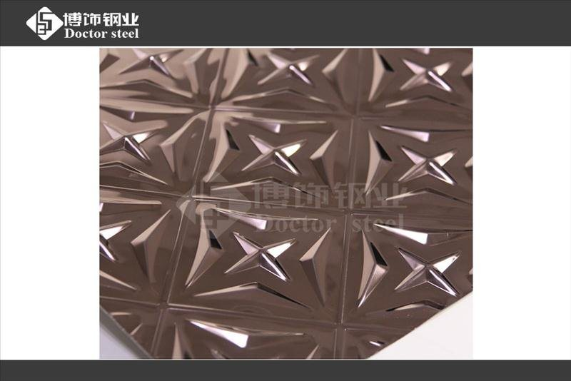 304不鏽鋼衝壓板,不鏽鋼玫瑰金鏡面衝壓板,不鏽鋼衝壓裝飾板,彩色不鏽鋼衝壓板