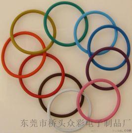 彩色密封圈 彩色硅胶密封圈 彩色橡胶密封圈