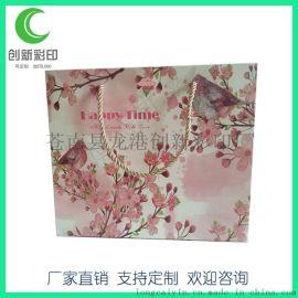 厂家定做礼品折叠服装手提袋 优质纸袋 印刷logo