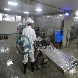无骨鸡柳自动上浆机,Y鱼排鸡排浸入式上浆设备