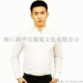 商务时尚中式衬衫 国风尚华天修身衬衫 春夏衬衫
