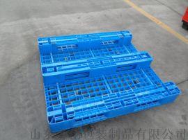 塑胶托盘网式卡板叉车用栈板
