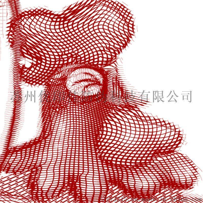 精细3D雕刻凹版防伪设计 防伪底纹版纹设计公司