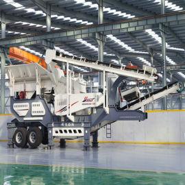 移动式破碎机-建筑垃圾处理设备-建筑垃圾粉碎机价格