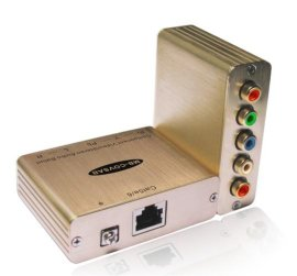 厂家直销色差分量视频/立体音频延长器(MB-COVSAB)