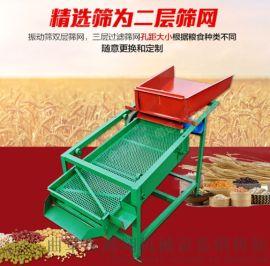 可定制小麦大豆筛选机玉米颗粒除杂清选机粮食振动筛