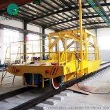 25吨直流电动平车 轨道定位拖车环保易维护