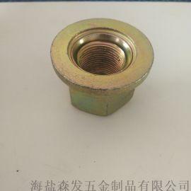 轮辘螺母   汽车专用法兰螺母24x1.5