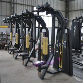 宁津健身器材厂家A力量训练器直臂夹胸A新款力量器械
