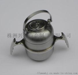 高密度钨合金防辐射屏蔽罐