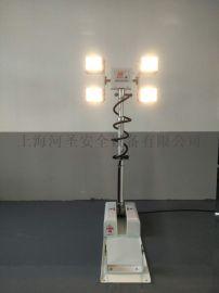 曲臂式車載照明燈 車載移動照明設備 上海河聖