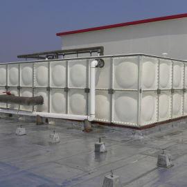 **不锈钢消防水箱与居民小区玻璃钢生活水箱