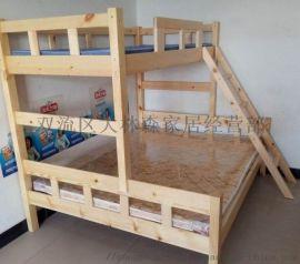 成都实木上下床定制学生床上下床