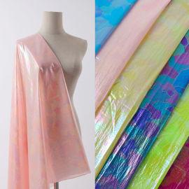 科技印花面料羽鸣纺织科技科技布印花面料生产厂家珠光