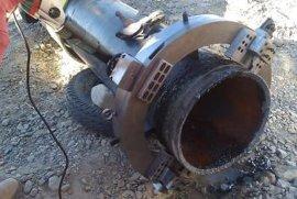 外卡式管道切割坡口机切割管径80-230毫米