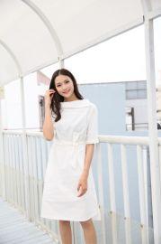 广东一线品牌年轻时尚【音非】夏装品牌折扣女装连衣裙